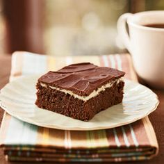 Chocolate-Mint Bars | CookingLight.com