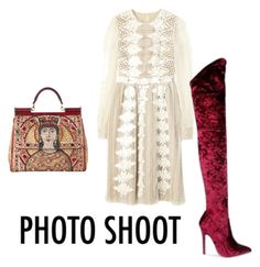 """Untitled #1530"" by mollface ❤ liked on Polyvore featuring Dolce&Gabbana"