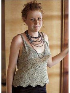 Acorn Camisole | InterweaveStore.com