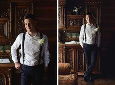 стиль жениха, портрет жениха, рустик, свадьба в стиле рустик, подтяжки, бутоньерка