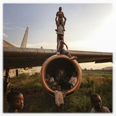 O aéroporto playground do Congo