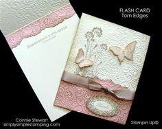 FLASH CARD - Torn Edges