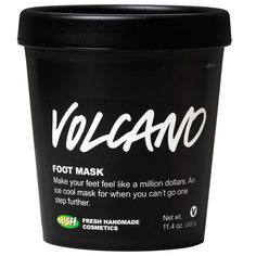 Volcano Foot Mask | Foot Care | LUSH Cosmetics