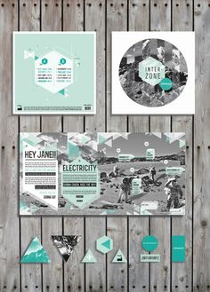 Spiritualized/ Vinyl by Ana B , via Behance