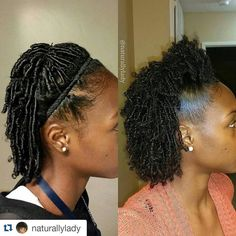 Coils and top knot style