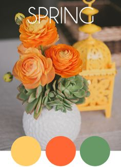 wedding color palette - Check out navarragardens.com for info on a beautiful Oregon wedding destination!