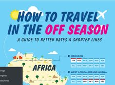 Smart travelers often wonder when they'll get the most bang for their travel buck. Others, (seniors, are you listening) often want to travel when the lines are smaller and your fellow seat-m… #traveldeals