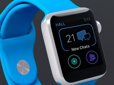 Hall Apple Watch by Marc Reisen for Hall