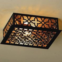 black metal ceiling light - Google Search