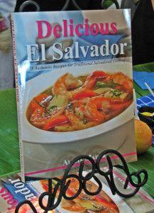 El Salvador recipe book, San Diego, California