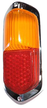 Taillight Lens, Amber-Red Euro Style, Ghia '56-'59  Item Number: 141945227AEH Price: $99.99 Supply limited can not get allot so get one today, Sold as Each. Fits Ghia '56-'59 Only #aircooled #combi #1600cc #bug #kombilovers #kombi #vwbug #westfalia #VW #vwlove #vwporn #vwflat4 #vwtype2 #VWCAMPER #vwengine #vwlovers #volkswagen #type1 #type3 #slammed #safariwindow #bus #porsche #vwbug #type2 #23window #wheels #custom #vw #EISPARTS