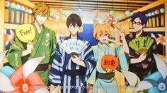 Makoto & Haruka & Nagisa & Rei