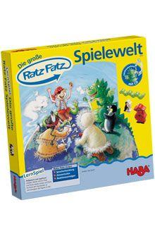 HABA -  Die große Ratz Fatz-Spielewelt - Ratz Fatz