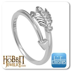 Official Hobbit Legolas Arrow Ring  http://www.thehobbitjewelry.com/official-hobbit-legolas-arrow-ring-42.html