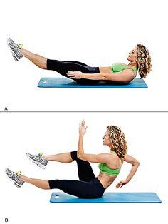 Stomach workout