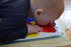 """Giving new meaning to """"facepainting""""."""