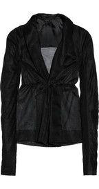 Rick OwensNaska cotton-organza jacket