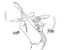 Image about manga in Monochrome 🔺 by Zero Two Manga Anime, Manga Girl, Anime Art, Manga Drawing, Drawing Sketches, Drawings, Aesthetic Art, Aesthetic Anime, Main Manga