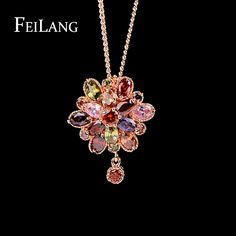 Feilang Luxury இ Design Princess Flower Marquise Cut CZ ᗔ Pendant Jewelry Fashion Multicolor Stone Women Necklace FSNP050Feilang Luxury Design Princess Flower Marquise Cut CZ Pendant Jewelry Fashion Multicolor Stone Women Necklace FSNP050 http://wappgame.com