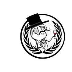 Logotipo anónimo de LulzSec Tazas De Café por LulzSec