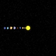 Sistema Solar GIF - Tenor GIF Keyboard - Bring Personality To Your Conversations Anim Gif, Animiertes Gif, Animated Gif, Satisfying Video, Oddly Satisfying, Solar System Gif, Solar System Animation, Choses Cool, Gifs