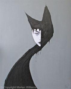 Black Cat 1 - Collage - Original