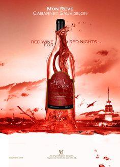 Red wine for magazines by oyalamabenihayat