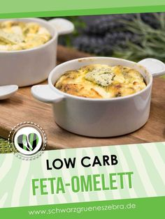 Das Feta-Omelett aus dem Backofen ist ein einfaches Rezept. Es ist schnell zubereitet und schmeckt einfach klasse.#eierfasten #lowcarb #keto #diät #fasten Lchf, Cheeseburger Chowder, Quiche, Feta, Paleo, Soup, Breakfast, Eggs, Breakfast On The Go