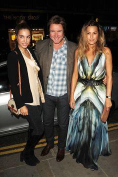 Amber, Simon, and Yasmin Le Bon