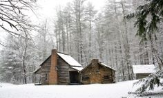 Henry Whitehead Cabin on 11/27/2013. Photo by: Faye Sykes. Cades Cove, Tennessee.