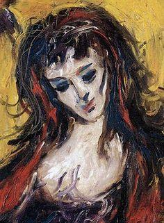 """Sérvulo Gutierrez : """"Retrato de mujer"""""""