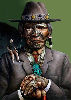 Paul Jackson Piece - Liam Messam (NZ Maori rugby captain) - For the Meanest… Polynesian Art, Polynesian Culture, Paul Jackson, Zealand Tattoo, Maori Designs, New Zealand Art, Nz Art, Maori Art, Kiwiana