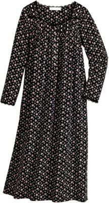 Eileen West Stunning French Rose Jersey Knit Nightgown Cotton Nighties d7233858a