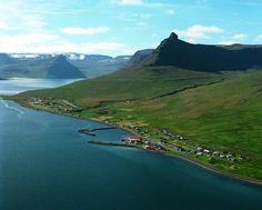 Súðavík, West fjords, Iceland