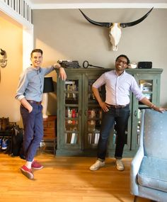 Stephen & Antwann's Cool, Clever Home — Pride at Home: House Tour Greatest Hits | Apartment Therapy