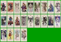 Tactics Ogre: Let Us Cling Together - Tarot Cards