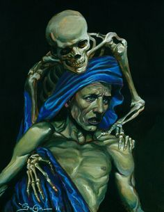 Momento Mori-new painting by David Gough