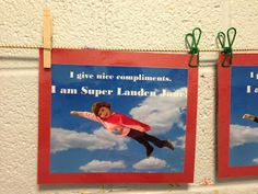 Super cute Superhero Bulletin Board