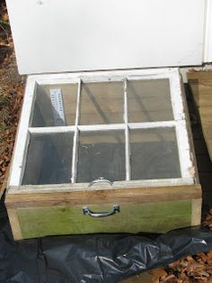 Gardening With Dummies: Cold Frames