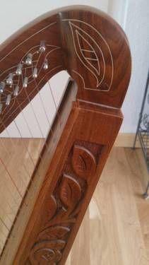 Keltische Harfe In Hessen Niedenstein Musikinstrumente Und Zubehor Gebraucht Musikinstrumente