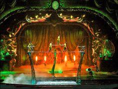 Cirque du Soleil. | ... Kremlin Palace, acrobatic rock opera Zarkana from Cirque du Soleil