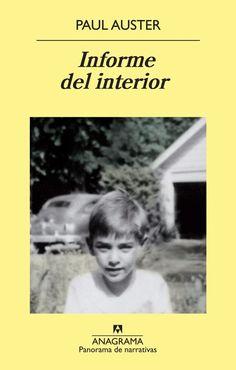 Informe del Interior: Paul Auster