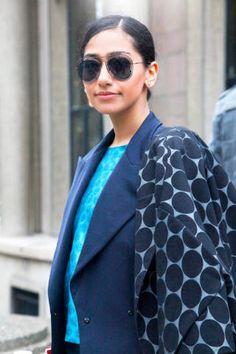 Miroslava Duma's Paris Street Style - Paris Fashion Week Spring 2013 Style - Elle