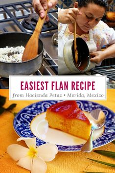 RECIPE: The best flan comes from the Hacienda Petac Flan Recipe. Follow these easy instructions to make your own caramel custard masterpiece.