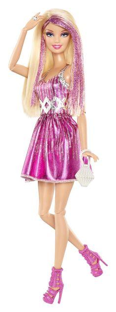 Barbie - Fashionistas: muñeca rubia/rosa (Mattel Y7487): Amazon.es: Juguetes y juegos