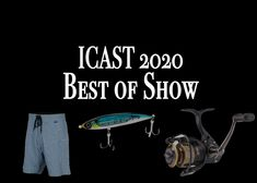 Voted on by media and dealers, the ICAST Best of Show Awards highlight the top tackle and gear choices in the fishing industry. Sport Fishing, Fishing Tackle, Saltwater Fishing Gear, Fishing Magazines, Highlight, Choices, Awards, Top, Accessories