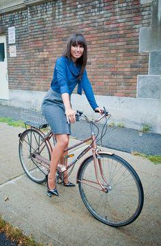 Victoria wraparound turtleneck shirt office fashion by tangente