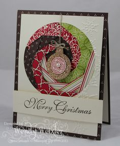 WMW Irisfold Christmas by Wendybell - Cards and Paper Crafts at Splitcoaststampers