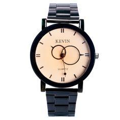 >> Click to Buy << KEVIN New Arrival Cute Two Circles Design Hands Wrist Watch Women Ladies quartz-watch relogio feminino Q1294 #Affiliate