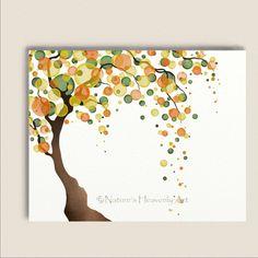 Watercolor+Tree+Wall+Art+11+x+14+Nature+by+NaturesHeavenlyArt,+$20.00